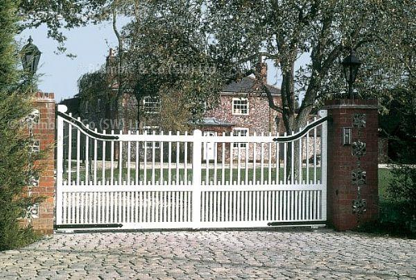 Electric Wooden Gates,Somerset